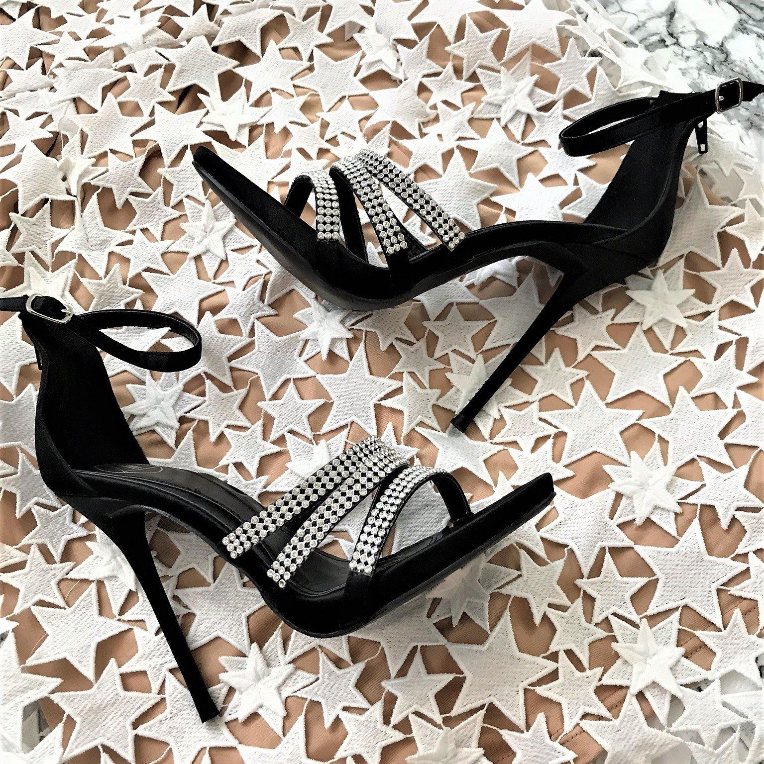 Черни сандали Monte-Carlo